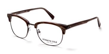 Light Brown Kenneth Cole New York KC0292 Eyeglasses.
