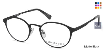 Matte Black Kenneth Cole New York KC0294 Eyeglasses.