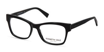 Matte Black Kenneth Cole New York KC0297 Eyeglasses.