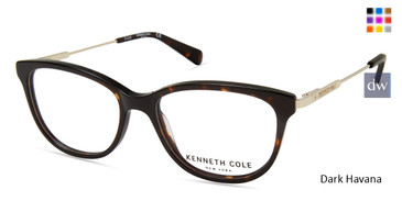 Dark Havana Kenneth Cole New York KC0298 Eyeglasses.
