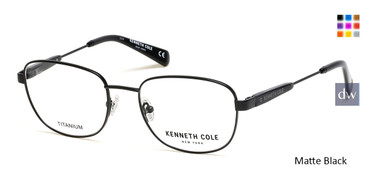Matte Black Kenneth Cole New York KC0299 Eyeglasses.