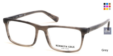 Grey Kenneth Cole New York KC0300 Eyeglasses.