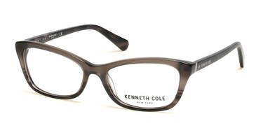 Black/Crystal Kenneth Cole New York KC0302 Eyeglasses.
