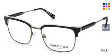 Black Kenneth Cole New York KC0303 Eyeglasses.