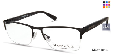 Matte Black Kenneth Cole New York KC0313 Eyeglasses.