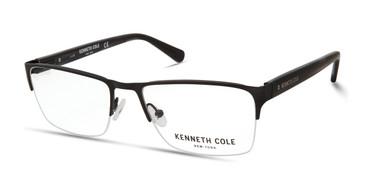 Matte Black Kenneth Cole New York KC0313 Eyeglasses.