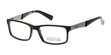 Matte Black Kenneth Cole Reaction KC0771 Eyeglasses.