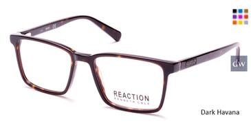 Dark Havana Kenneth Cole Reaction KC0805 Eyeglasses.