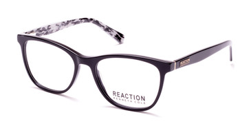 Shiny Black Kenneth Cole Reaction KC0806 Eyeglasses.