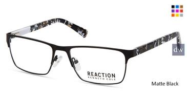 Matte Black Kenneth Cole New York KC0808 Eyeglasses.
