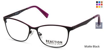 Matte Black Kenneth Cole New York KC0811 Eyeglasses.