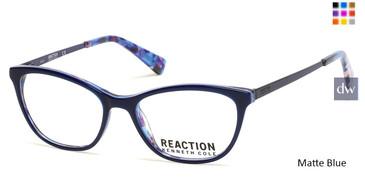 Matte Blue Kenneth Cole New York KC0826 Eyeglasses.