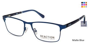 Matte Blue Kenneth Cole New York KC0823 Eyeglasses.
