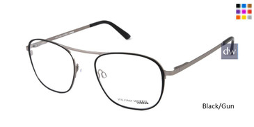 Black/Gun William Morris London WM50133 Eyeglasses.
