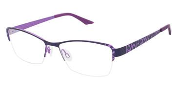 Purple Brendel 902149 Eyeglasses.