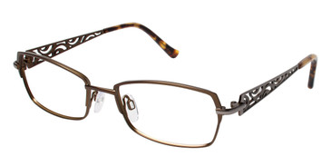 Khaki Brendel 922015 Eyeglasses.