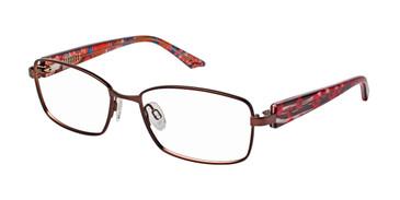 Brown Brendel 922016 Eyeglasses.
