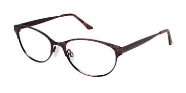 Brown Brendel 922020 Eyeglasses.