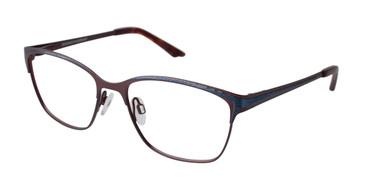 Brown Brendel 922031 Eyeglasses.