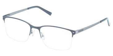 Black Charcoal Super Flex Titan SF-1119T Eyeglasses.