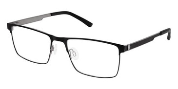Black Grey Super Flex Titan SF-1110T Eyeglasses.