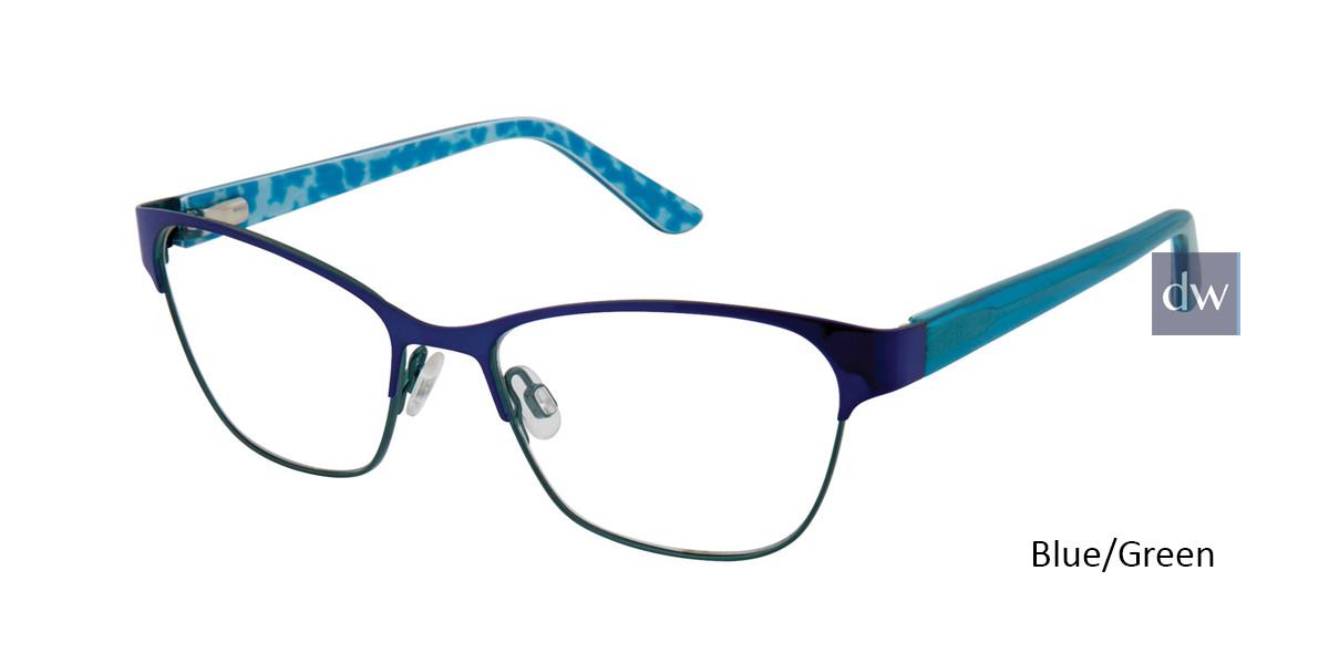 Blue/Green Gx By Gwen Stefani Gx815 Juniors Eyeglasses -Teenager.
