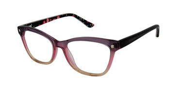 Grey/Pink/Brown Gx By Gwen Stefani Gx816 Juniors Eyeglasses - Teenager.