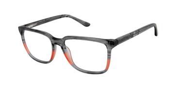 Grey/Coral Gx By Gwen Estefani Gx054 Eyeglasses.