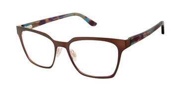 Brown/Rose Gx By Gwen Stefani Gx061 Eyeglasses.