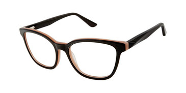 Black Gx By Gwen Stefani Gx063 Eyeglasses.