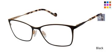 Black Mini 761000 Eyeglasses.