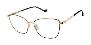 Navy Gold  Mini 742012 Eyeglasses.