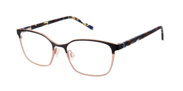 Black/Gold Humphrey's 592042 Eyeglasses - Teenager.