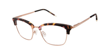 Brown Tortoise/Rose Gold Humphrey's 592044 Eyeglasses.