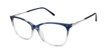 Navy/Blush Fade Mini 741009H Eyeglasses.