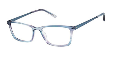 Steel Blue Kliik Denmark 668 Eyeglasses - Teenager.