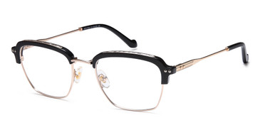 Gold/Black Capri AGO 1024 Eyeglasses