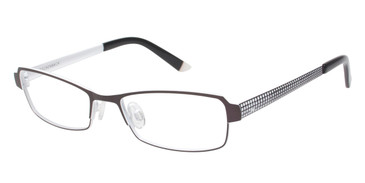 Grey/White Humphrey's 582136 Eyeglasses - Teenager.