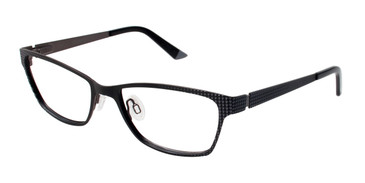 Black/Grey Humphrey's 582164 Eyeglasses.