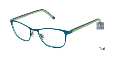 Teal Humphrey's 582206 Eyeglasses - Teenager.
