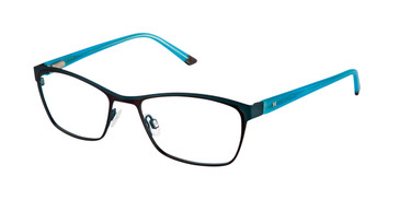 Brown Turquoise Humphrey's 582208 Eyeglasses.