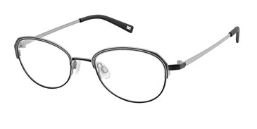 Black Gun Kliik Denmark 658 Eyeglasses - Teenager.