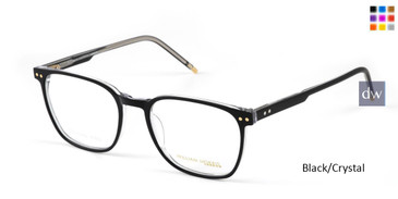 Black/Crystal William Morris London WM50136 Eyeglasses.
