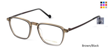 Brown/Black William Morris London WM50139 Eyeglasses.