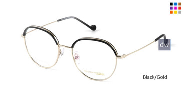 Black/Gold William Morris London WM50140 Eyglasses.