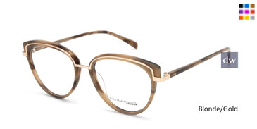 Blonde/Gold William Morris London WM50143 Eyeglasses.