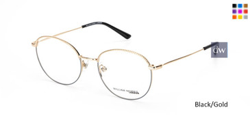 Black/Gold William Morris London WM50146 Eyeglasses.