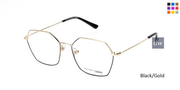Black/Gold William Morris London WM50148 Eyeglasses.