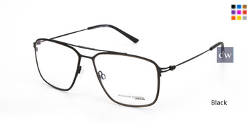 Black Willia.m Morris London WM50155 Eyeglasses