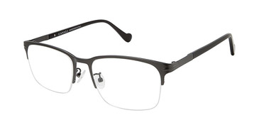 C01 Gunmetal Canali 603A Alternative Fit Titanium Eyeglasses.